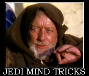 Old Jedi Mind Tricks